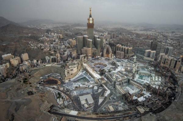 تنفيذ مشروع لتوفير 60% من مياه الوضوء بالمسجد الحرام