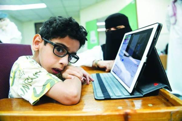 450 طالبا وطالبة من ذوي الإعاقة في جلسات التربية الخاصة