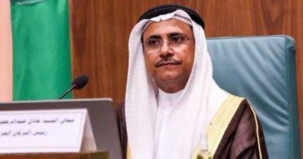 البرلمان العربي يرحب بمخرجات» جوار ليبيا»