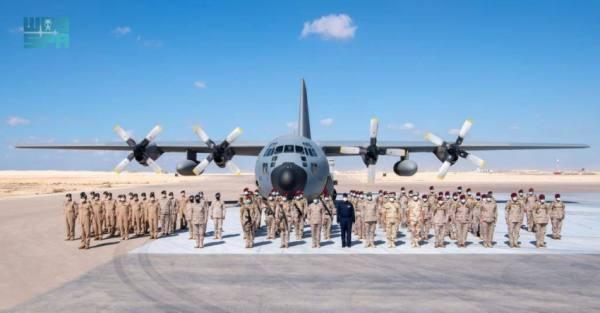 القوات السعودية تستعرض مهاراتها القتالية في مناورات  «النجم الساطع»