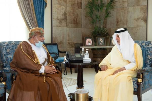 الفيصل يستقبل القنصل العام لسلطنة عمان