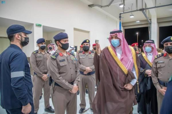 أمير حائل يفتتح 6 مراكز للدفاع المدني