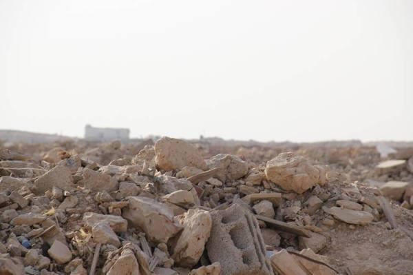 أمانة جازان ترفع 51 ألف م3 من مخلفات البناء والهدم بصبيا
