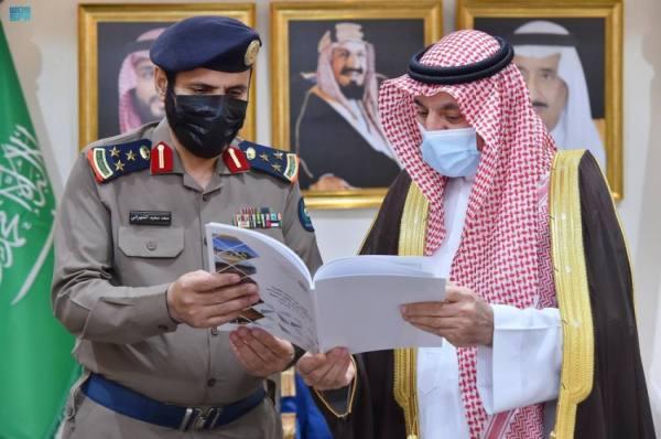 أمير نجران يطّلع على تقرير عن الحالة المطرية بالمنطقة