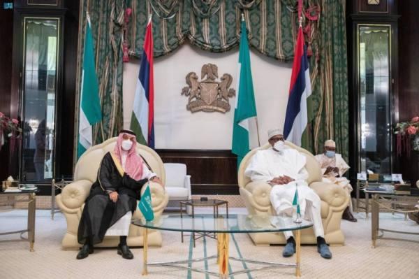 وزير الخارجية يبحث مع رئيس نيجيريا التنسيق والعمل المشترك على كافة المستويات