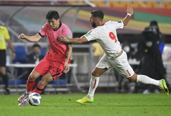 تصفيات مونديال قطر: لبنان يخسر من كوريا الجنوبية