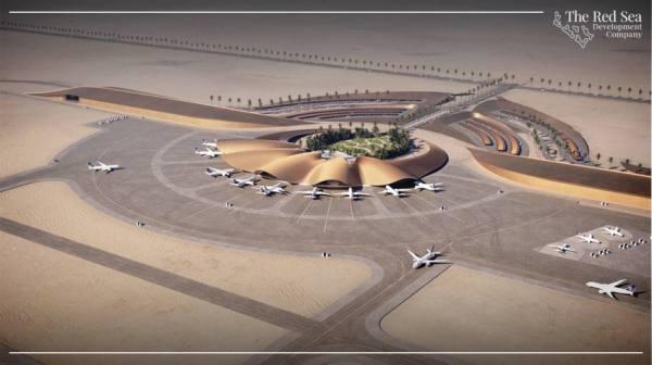 تشغيل مطار مشروع البحر الأحمر نهاية 2022