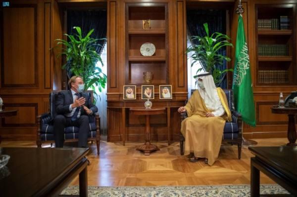 الجبير يناقش مع سفير فرنسا القضايا المشتركة