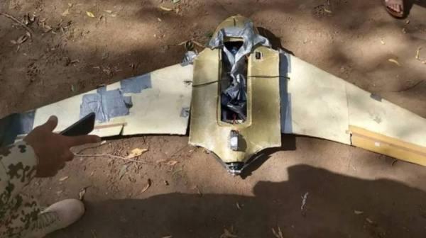 الجيش اليمني يسقط طائرة مفخخة حوثية بصعده