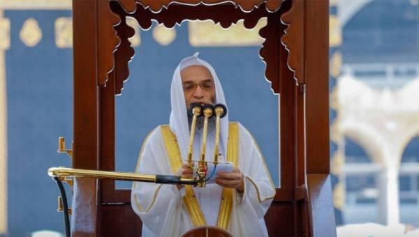 غزاوي من المسجد الحرام :  أن المرء يوزن بين الناس بالإيمان و التقوى