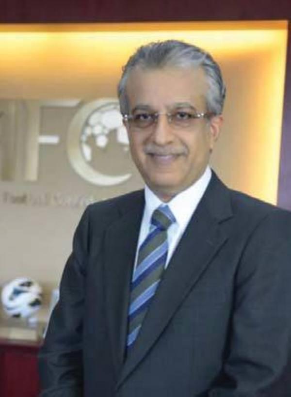 آل خليفة: آسيا فخورة بالنموذج الناجح للاتحاد السعودي