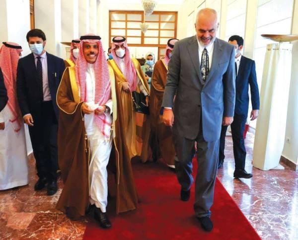 مباحثات سعودية ألبانية لدعم العلاقات وتوطيد الشراكة