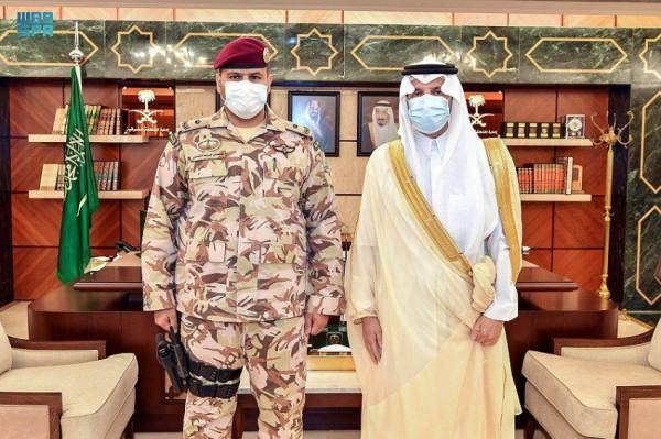 أمير الشرقيّة يقلّد قائد حراسات الإمارة رتبته الجديدة