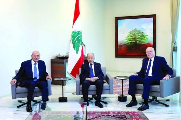 الحكومة اللبنانية الجديدة تعقد أول اجتماعاتها