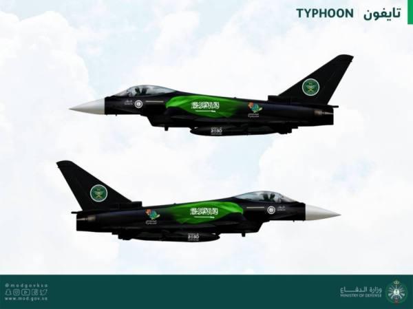 طائرات الدفاع الجوي تشارك في احتفالات اليوم الوطني