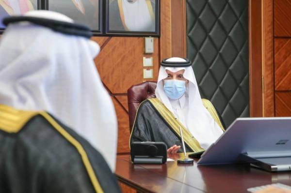 أمير الشرقية يستقبل رئيس جامعة حفر الباطن ويطلع على آلية القبول