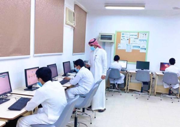 أكثر من 539 ألف طالب وطالبة يؤدون اختبارات تعزيز المهارات