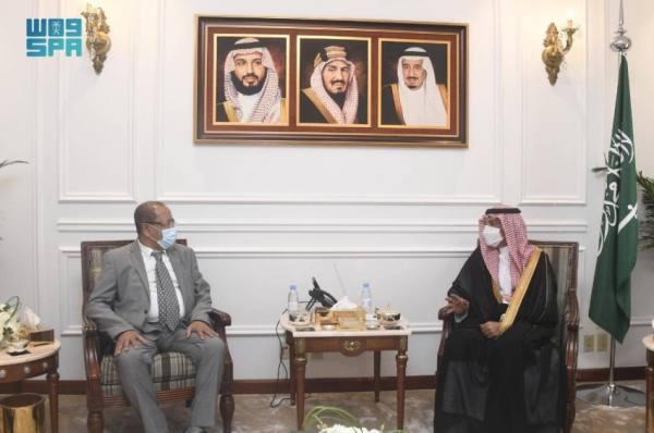 الحملي يستقبل القنصل العام اليمني