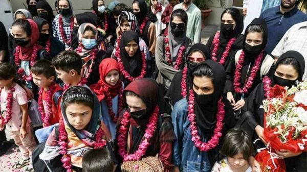 لجوء لاعبات كرة القدم الأفغانيات لباكستان