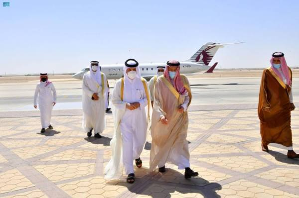 نائب وزير الخارجية يستقبل وزير الدولة للشؤون الخارجية القطري