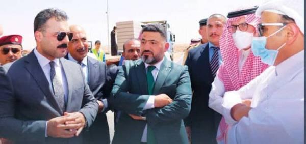 زيادة التبادل التجاري مع العراق عبر منفذ جديدة عرعر