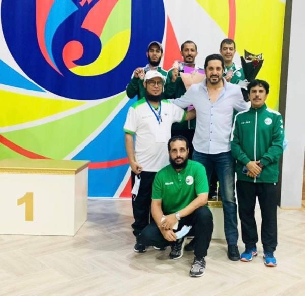أخضر الرماية يختتم الآسيوية بـ 3 ميداليات