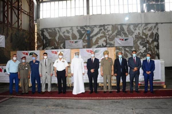وصول طائرة إغاثية إلى تونس تحمل على متنها خمسة مولدات أكسجين