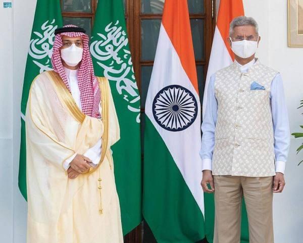 وزير الخارجية يلتقي وزير خارجية الهند ويعقدان جلسة مباحثات رسمية