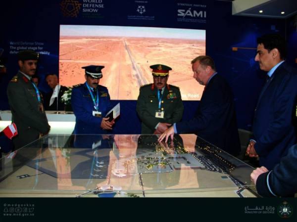 العمرو يرأس وفد وزارة الدفاع للمعرض الدولي لمعدات الدفاع والأمن بالمملكة المتحدة