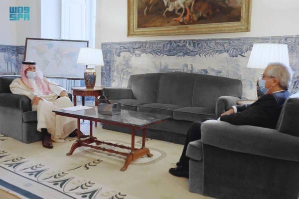 سعود بن عبدالمحسن يٌقدّم أوراق اعتماده سفيرًا للمملكة بالبرتغالية