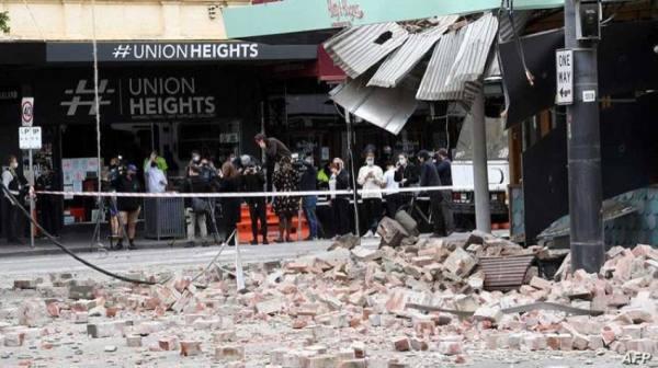 زلزال بقوة 5.8 درجات يضرب أستراليا