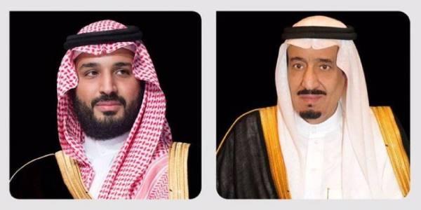 الملك وولي العهد يتلقيان برقيات تهان من قيادة  الكويت