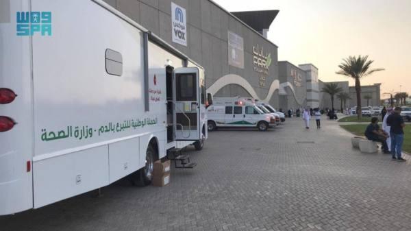 صحة تبوك: حملة للتبرع بالدم بمناسبة اليوم الوطني