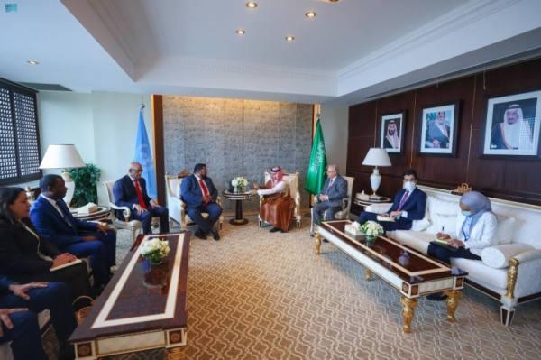 وزير الخارجية يناقش مع رئيس غويانا التعاونية الموضوعات المشتركة