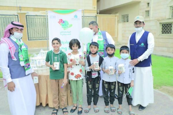 4 مبادرات تطوعية في احتفالات مكة باليوم الوطني