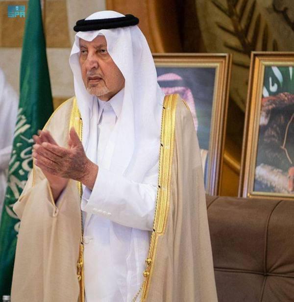 أمير مكة يستقبل موظفي الإمارة من فئة الصم