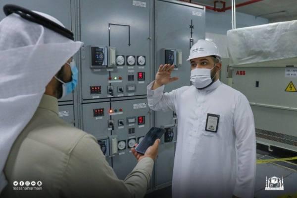 (4) محطات كهربائية رئيسة وأكثر من (20) مغذياً في خدمة المسجد الحرام