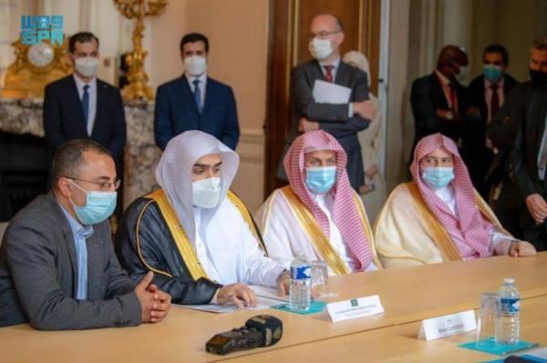 رئيس ديوان المظالم يزور مجلس الدولة الفرنسي