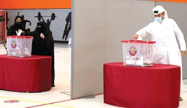 قطر صوتت لـ 30 عضوا في أول انتخابات لمجلس الشورى