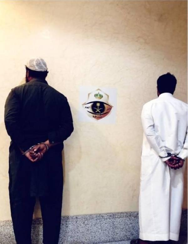 شرطة مكة تضبط مواطنا ومقيما يبيعان سكرابًا وكابلات نحاسية مسروقة