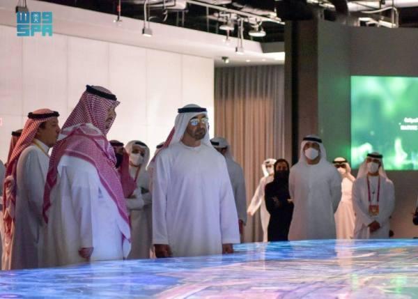 الأمير تركي بن محمد بن فهد يبحث سبل تطوير العلاقات مع ولي عهد أبوظبي
